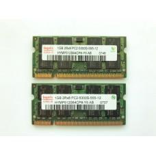 Оперативная память DDR2 Hynix 2gb PC2-5300S для ноутбука