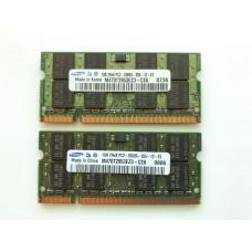 Оперативна пам'ять DDR2 Samsung 2gb PC2-5300S для ноутбука