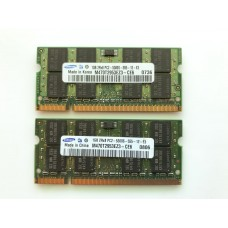 Оперативная память DDR2 Samsung 2gb PC2-5300S для ноутбука