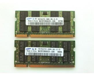 Оперативная память для ноутбука DDR2 Samsung 2gb PC2-5300S