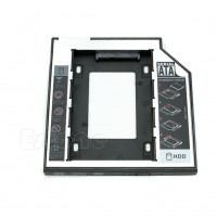 DVD Optibay Caddy 9.5 mm SATA