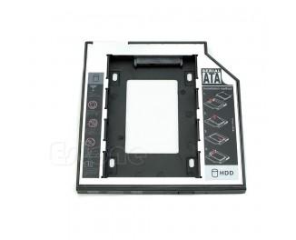DVD Optibay Caddy 9.5mm SATA для подключения второго HDD
