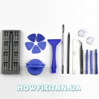 Набор инструментов для разборки планшета