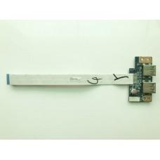 Плата с USB ноутбука Acer Aspire E1-510 E1-530 E1-532
