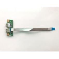 Плата с USB ноутбука Emachines E732