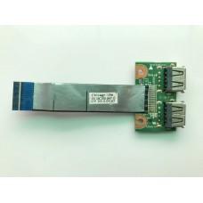 Плата с USB ноутбука HP 630 635 Compaq cq57