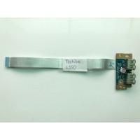 Плата с USB ноутбука Toshiba Satellite L550 L500