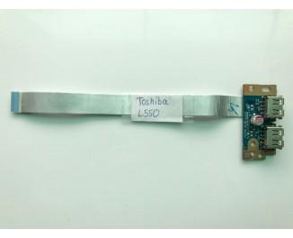 Плата USB для ноутбука Toshiba Satellite L550 L500