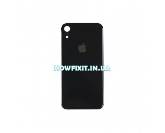 Заднее стекло корпуса iPhone XR Black