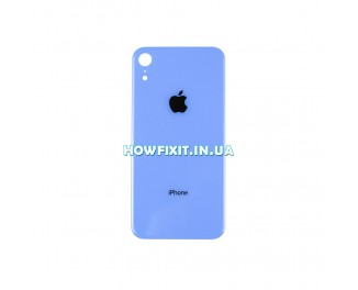 Заднее стекло корпуса iPhone XR Blue