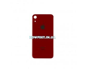 Заднее стекло корпуса iPhone XR Red