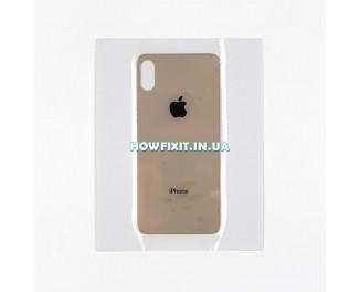 Заднее стекло корпуса iPhone XS Gold