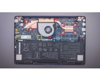 Как разобрать ноутбук ASUS ZenBook 13 UX331