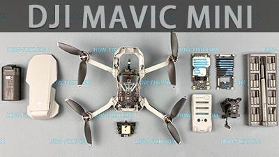 Розбирання і ремонт Dji Mavic Mini