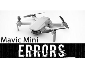 Коды ошибок Mavic Mini и способы их решения