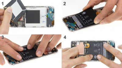 Как заменить батарею  Google Pixel