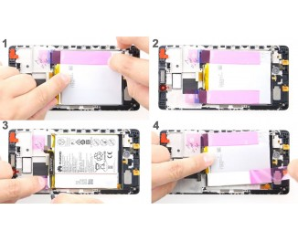 Как заменить батарею Huawei Mate S