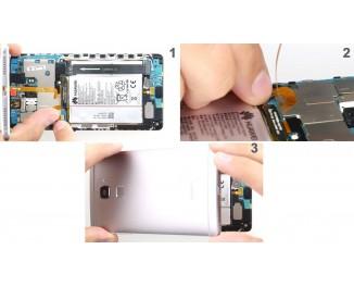 Как заменить заднюю крышку Huawei Mate S