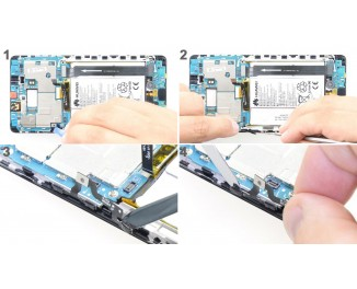 Как заменить кнопки управления громкостью Huawei Mate S