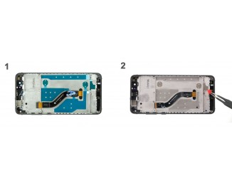 Как заменить дисплей Huawei P10 lite