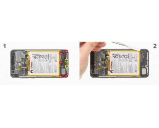 Как заменить динамик Huawei P8 lite (2017)