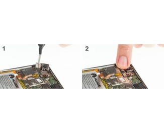 Как заменить основную камеру Huawei P8 lite (2017)