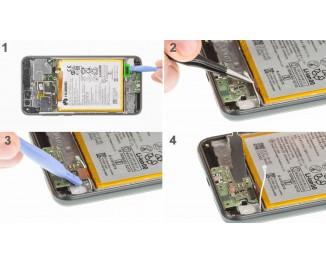Как заменить USB плату Huawei P8 lite (2017)