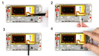 Инструкции по ремонту Huawei P8 Lite