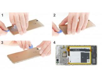 Как заменить заднюю крышку Huawei P9 lite