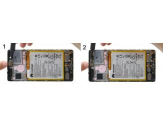 Как заменить слуховой динамик Huawei P9