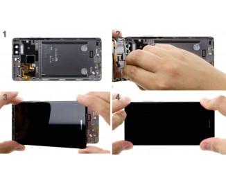 Как заменить заднюю крышку Huawei P9