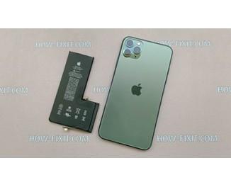 Как заменить батарею на iPhone 11 Pro Max