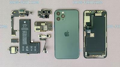 Розбирання iPhone 11 Pro Max і заміна задньої кришки