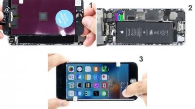 Как заменить дисплей iPhone 6