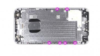 Как заменить заднюю крышкуiPhone 6