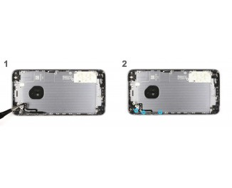 Как заменить кабель регулировки громкости iPhone 6s Plus