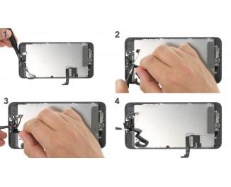 Как заменить кабель фронтальной камеры iPhone 7 Plus