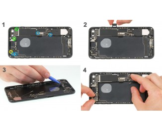 Как заменить материнскую плату iPhone 7 Plus