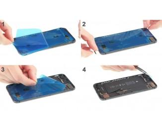 Как полностью разобрать iPhone 7 Plus и заменить заднюю крышку