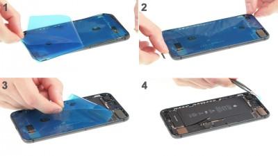 Как заменить заднюю крышку iPhone 7 Plus