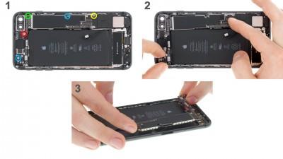 Как заменить материнскую плату iPhone 8 Plus