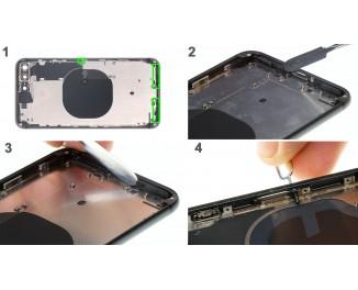 Как заменить заднюю крышку iPhone 8 Plus