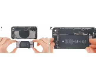 Как заменить батарею iPhone 8 Plus