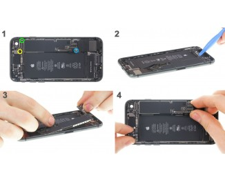 Как заменить материнскую плату iPhone 8