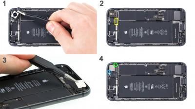 Как заменить основную камеру iPhone 8
