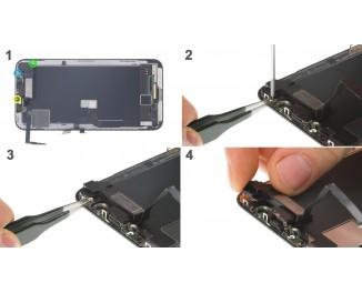 Как заменить слуховой динамикiPhone X