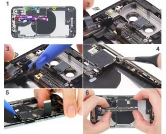 Как заменить материнскую платуiPhone X