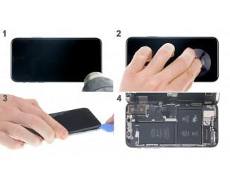 Как полностью разобрать iPhone X и заменить заднюю крышку