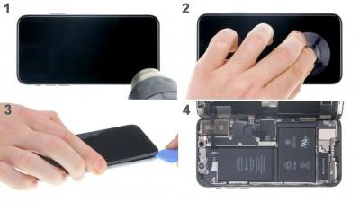Как заменить заднюю крышкуiPhone X
