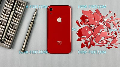 Як замінити скло на iPhone XR